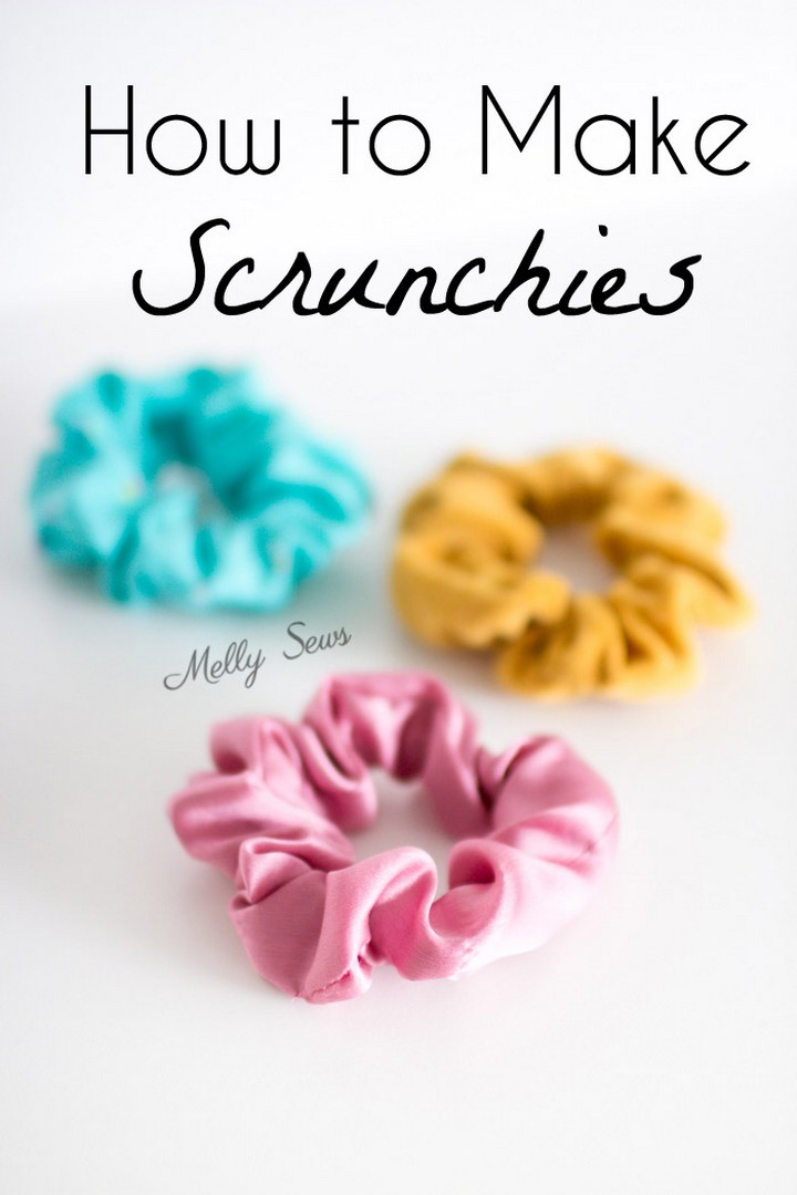 How To Make Scrunchies Tutorial