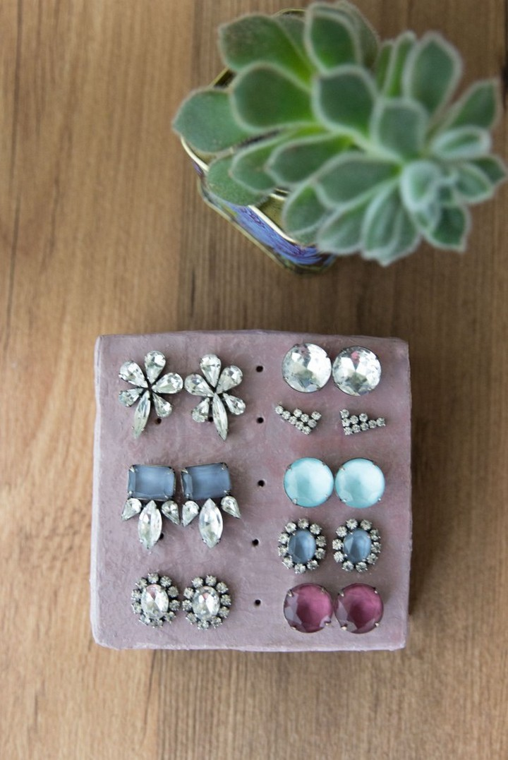 How to Clay Earring Stand for Your Studs