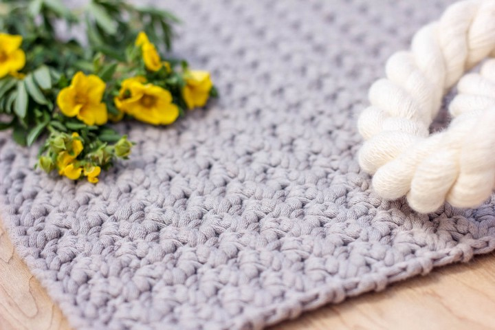 How to Crochet Beautiful the Moss Stitch