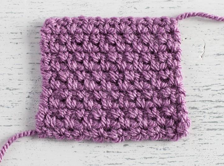 How to Crochet Granite Stitch