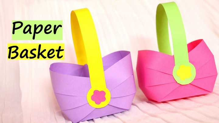 How to make a Paper Basket for Easter