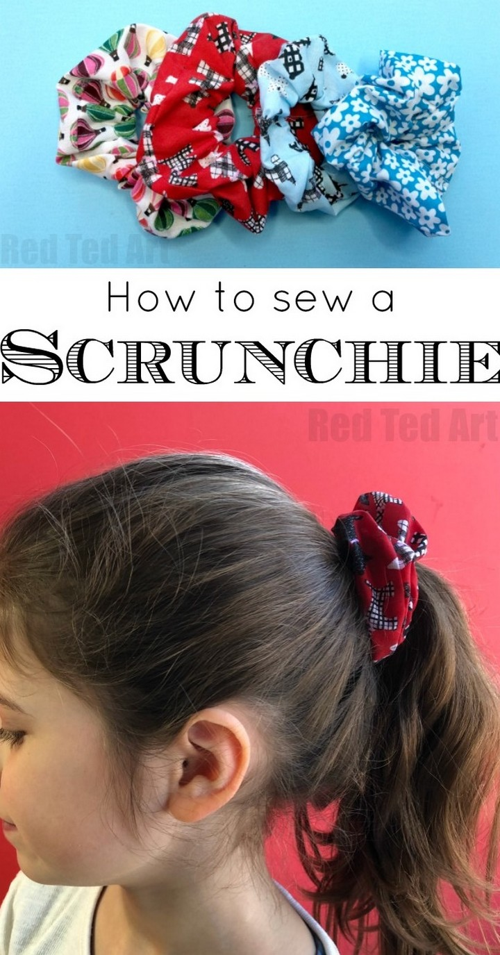 HowTo Sew Scrunchie