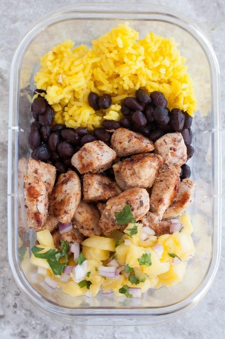 Jerk Chicken Meal Prep