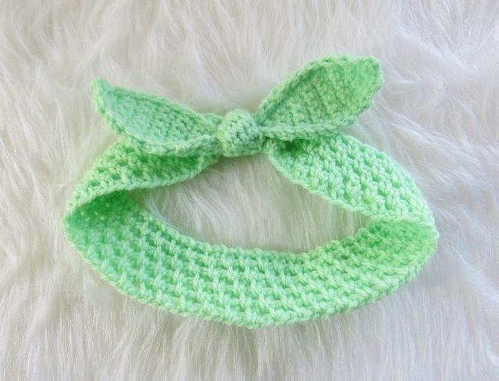 Knot Me Up Headband Free Crochet Pattern