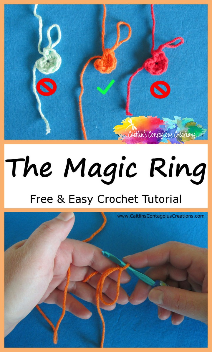 Magic Ring Crochet Tutorial DIY