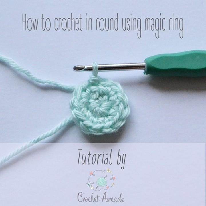 Magic Ring Tutorial Crochet Pattern