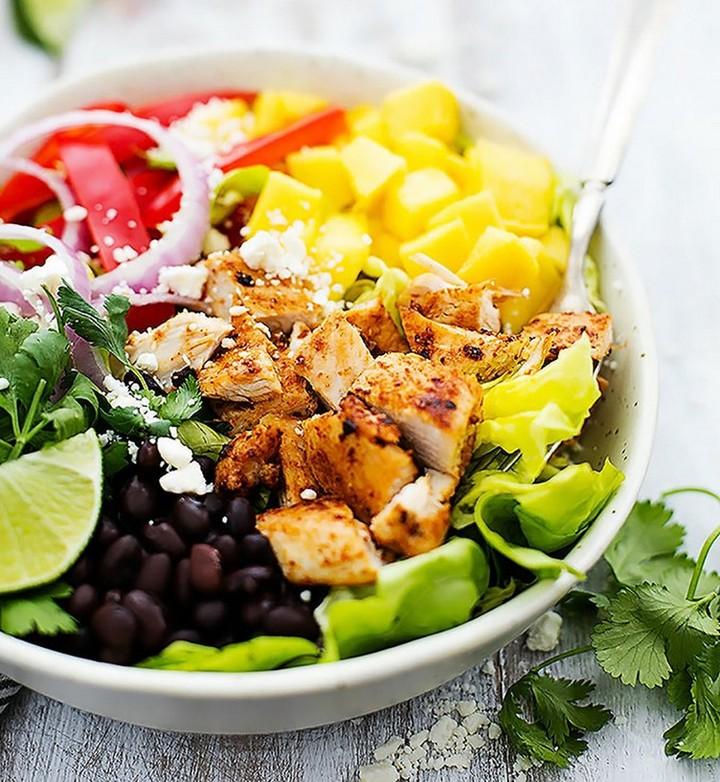 Mango Chipotle Chicken Salad