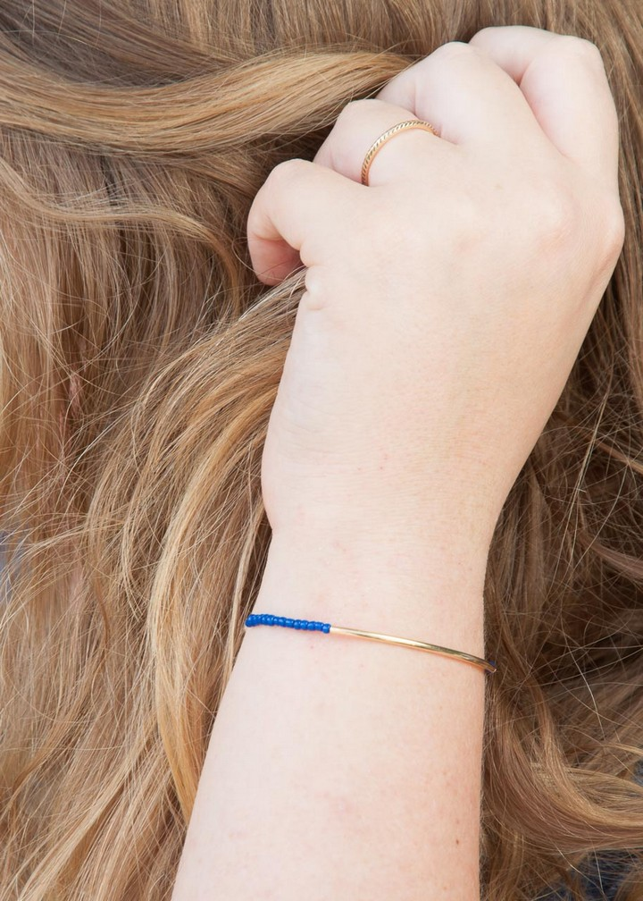 Minimalist Beaded Easy DIY Bracelets