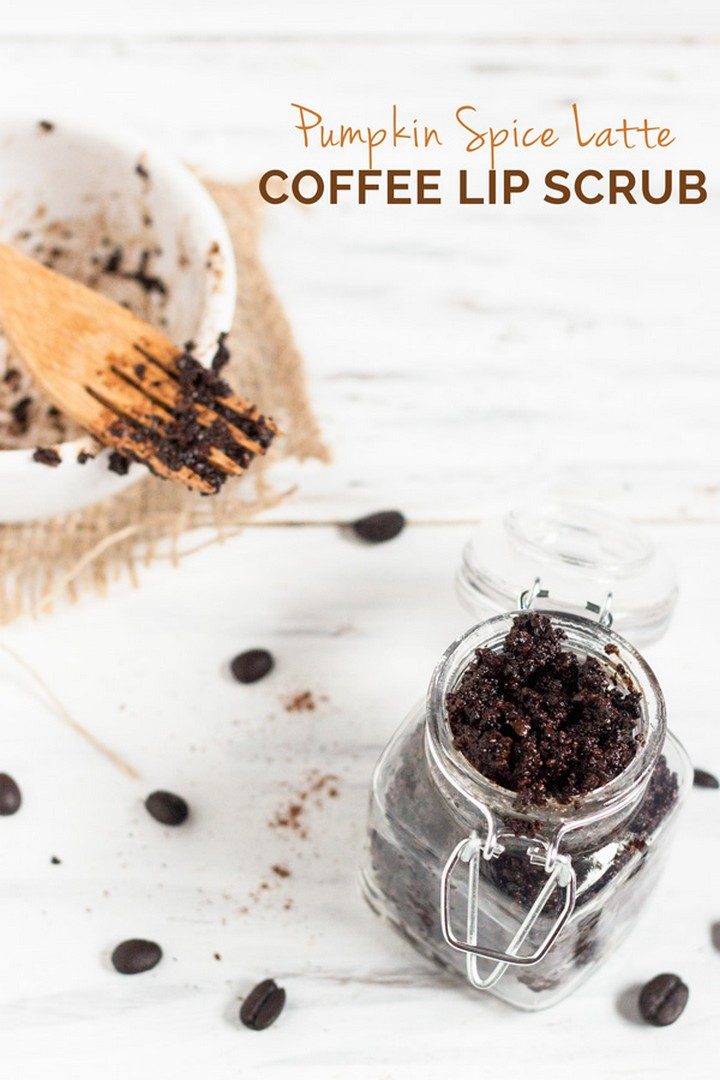 New Pumpkin Spice Latte Sugar Coffie Lip Scrub