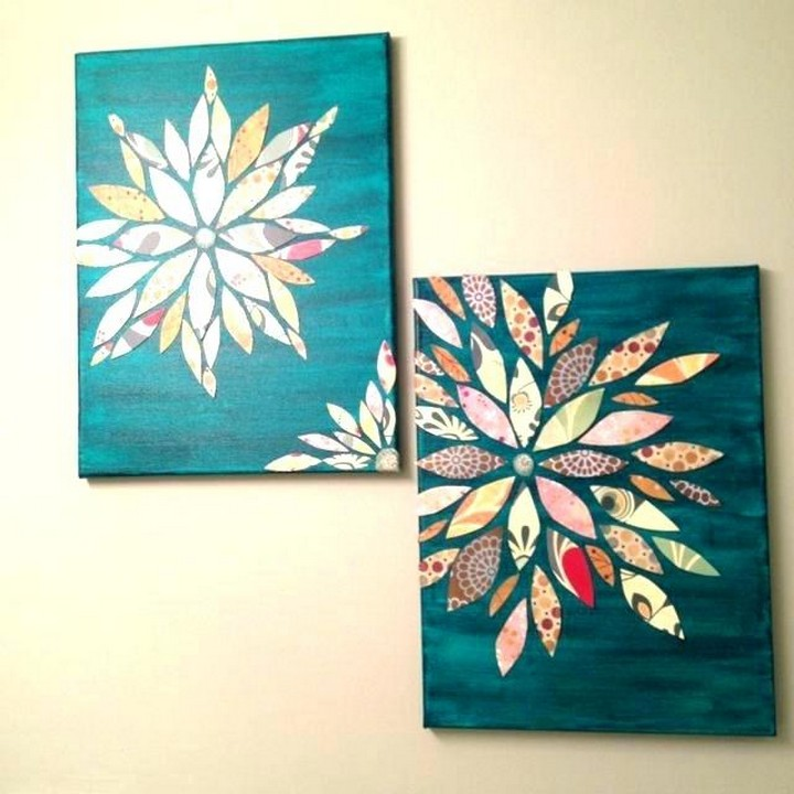 Nice DIY Canvas Painting Design