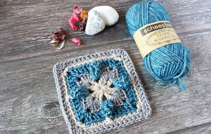 PopUp Square Free Crochet Pattern