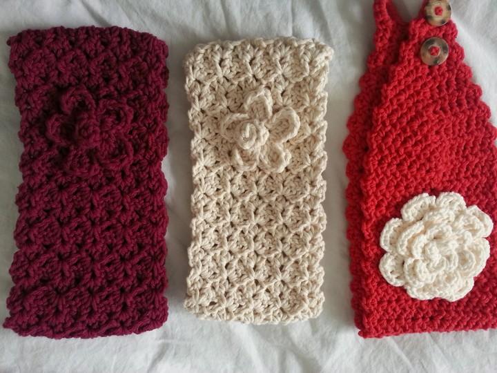 Quick Easy Batch of Crochet Headbands