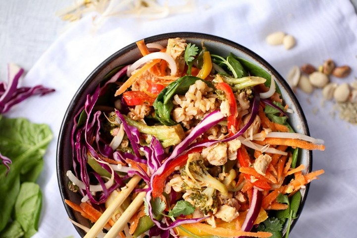 Red Curry Dragon Bowl