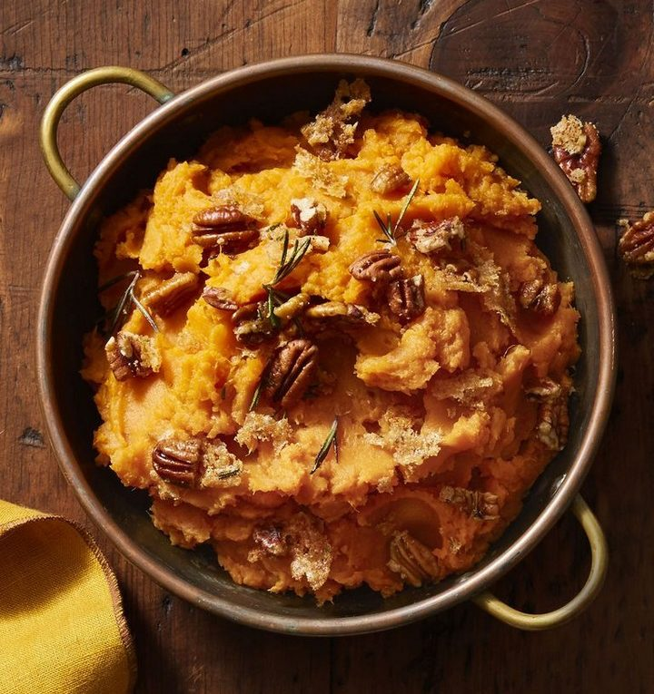 Rosemary Pecan Sweet Potato Mas