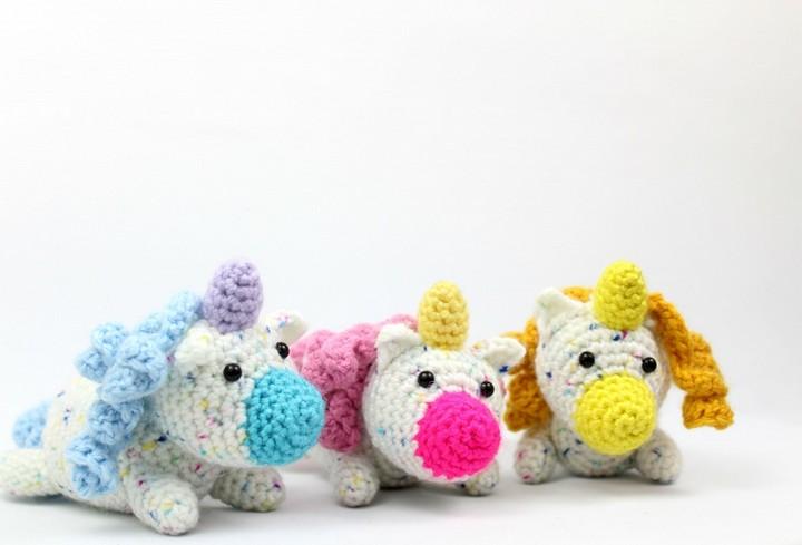 Scraptacular Unicorn Amigurumi Free Crochet Pattern