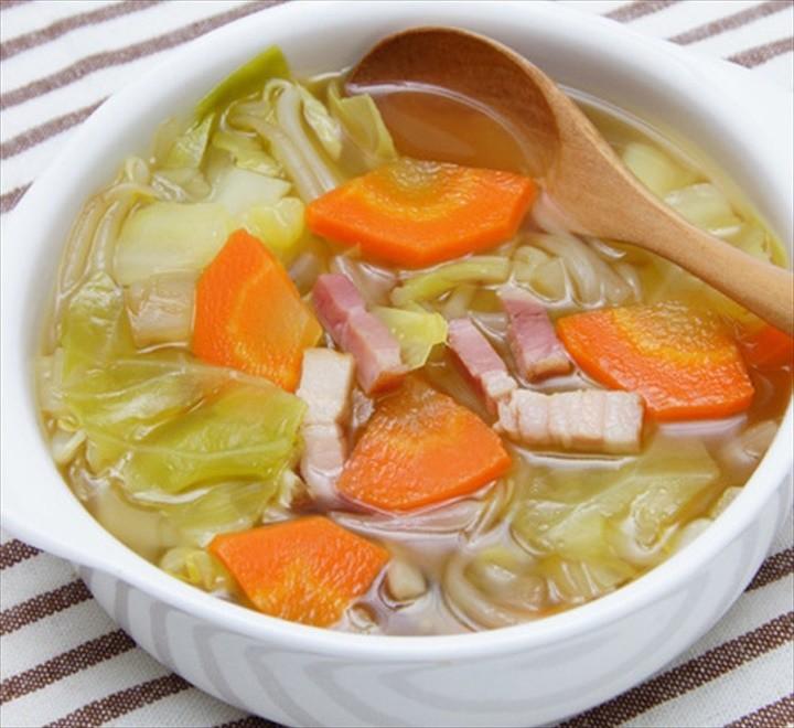 Shio Koji Vegetable Soup