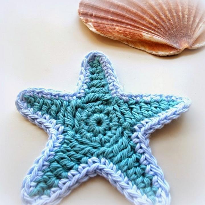 Starfish Motif Barbara Summers Free Crochet Pattern