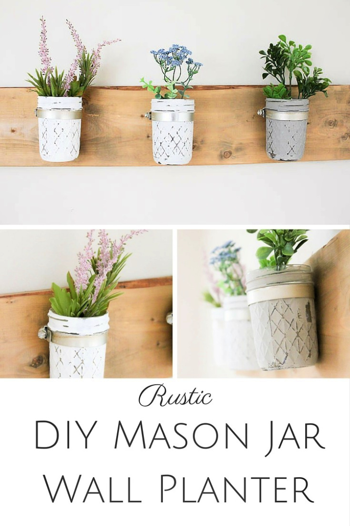 Wall Mounted Meson Jar DIY Tutorial