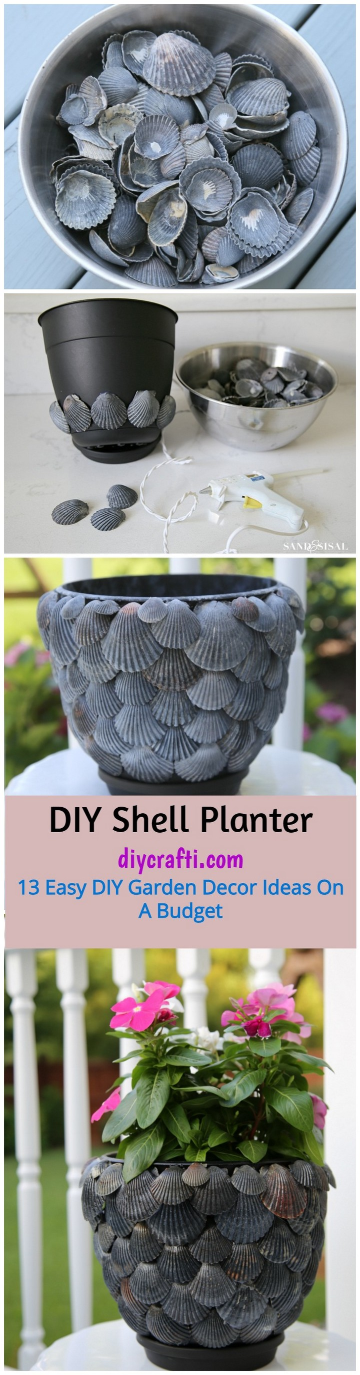 13 Easy DIY Garden Decor Ideas On A Budget