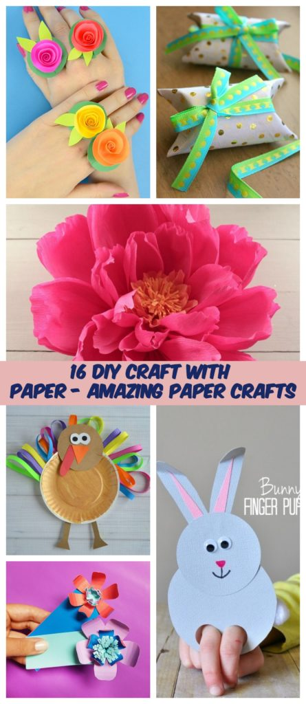 16 DIY Craft With Paper Amazing Paper Crafts 1
