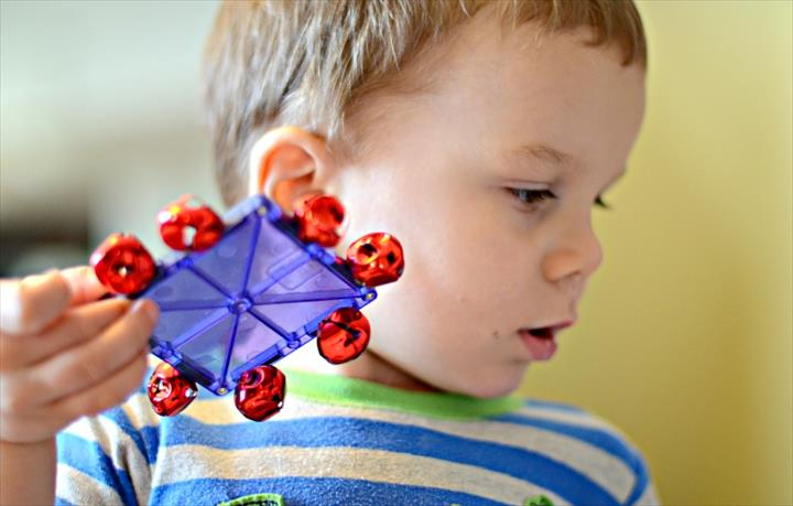 Chirtmas Activity For Kids By Using Tiles Jingle Bells