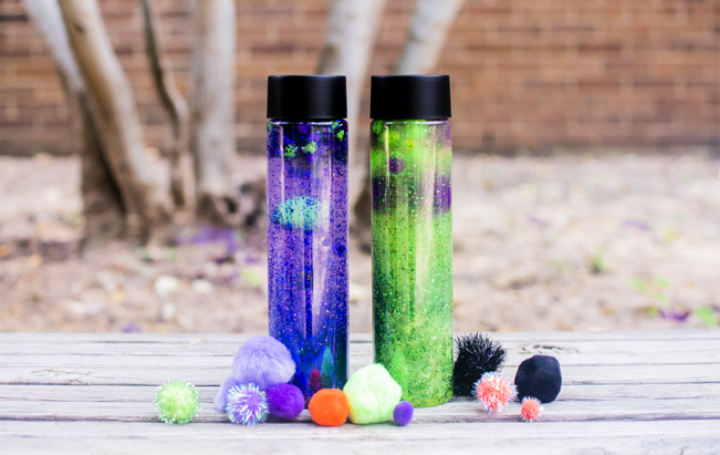 DIY Cute Calming Children With Easy DIY Sensory Bottles For Kids