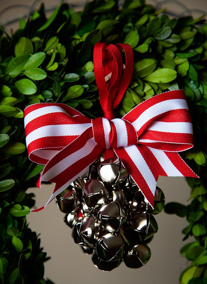 DIY Hanging Outdoor Jingle Bell Ornament