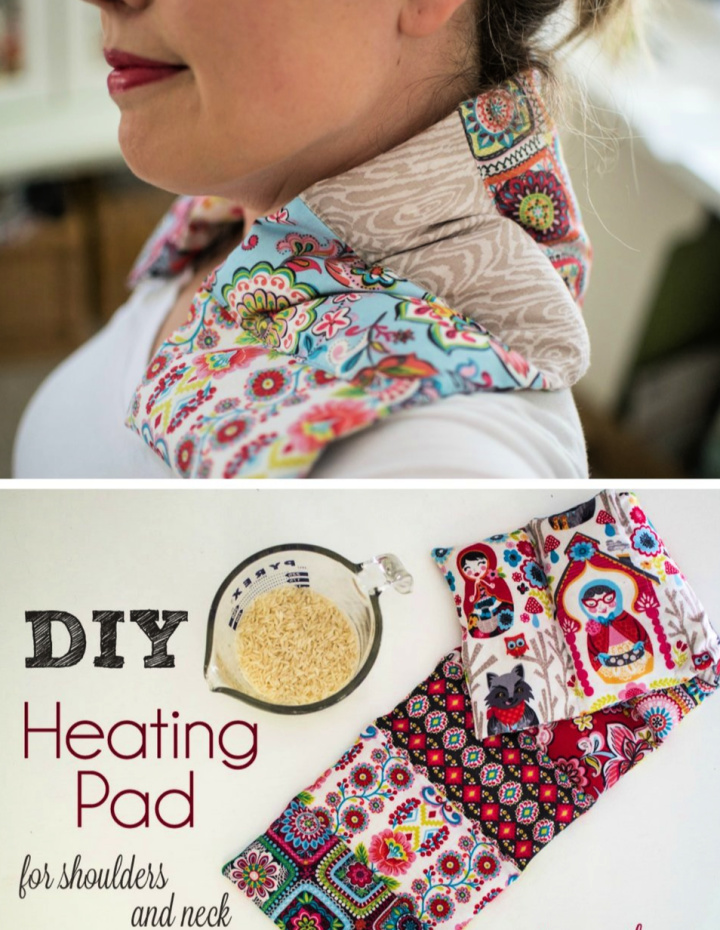 DIY Heating Pad For Shoulders and Neck
