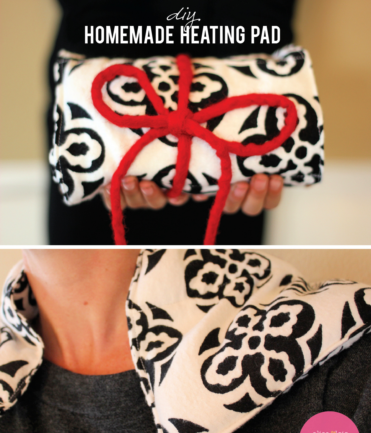 DIY Homemade Heating Pad – Handmade Gift Tutorial Series