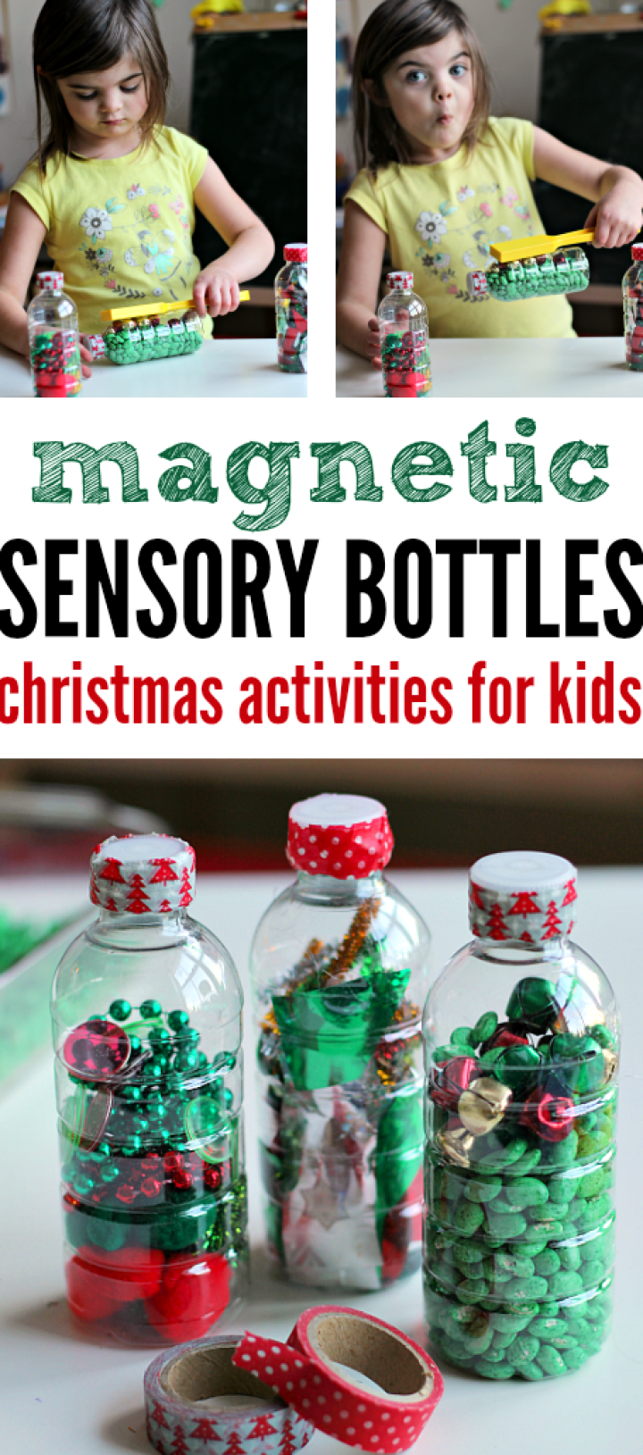 DIY Magnetic Sensory Bottles