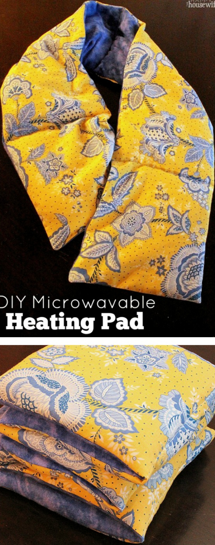 DIY Reusable Microwavable Heating Pad