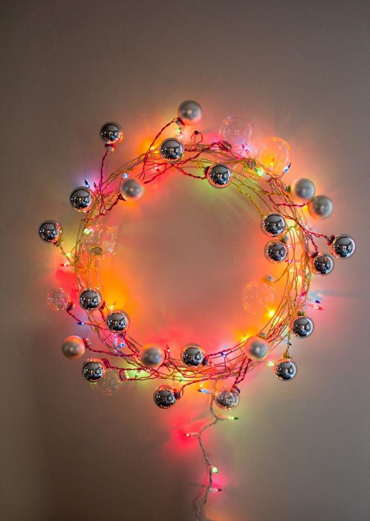Decent Super Modern Lightning Wire Wreath