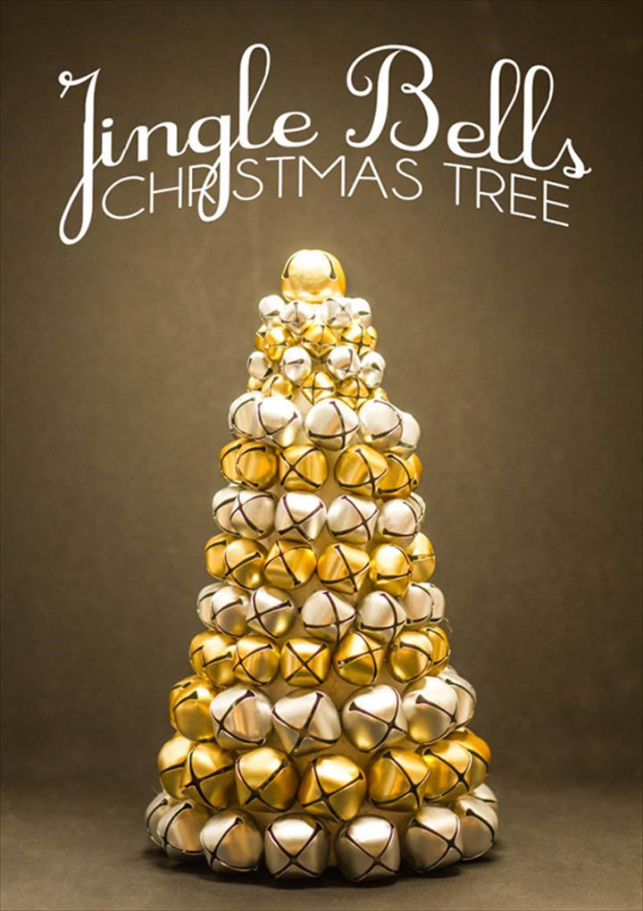 How To Make Chirtmas Tree With Jingle Bells