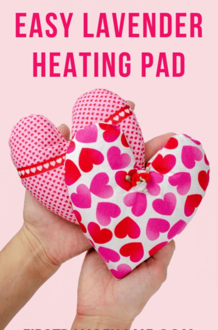 How to Make a Rice Heating Pad with Lavender Tutorial