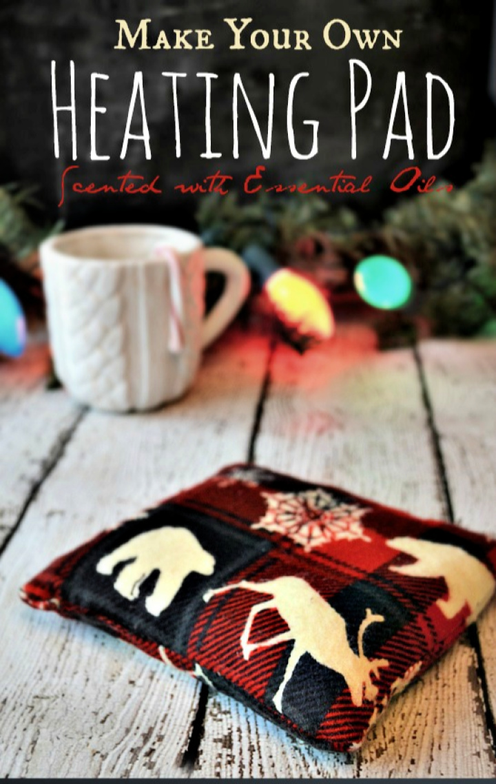 Make Your Own Heating Pad Scented with Essential Oils
