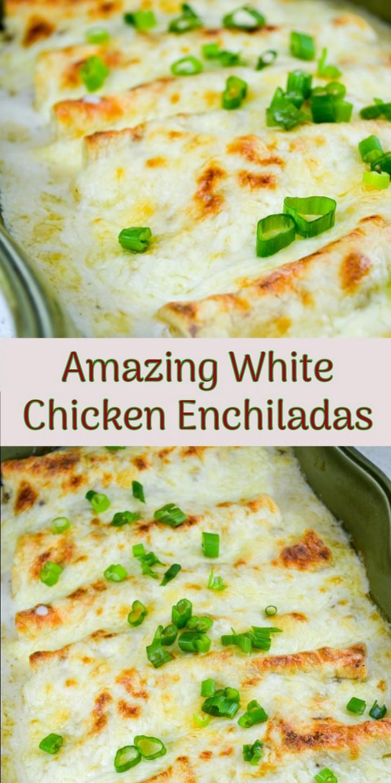 Amazing White Chicken Enchiladas 1