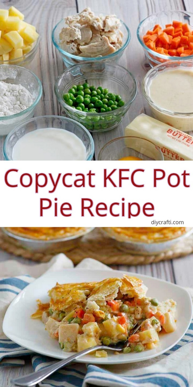 Copycat KFC Pot Pie Recipe 1