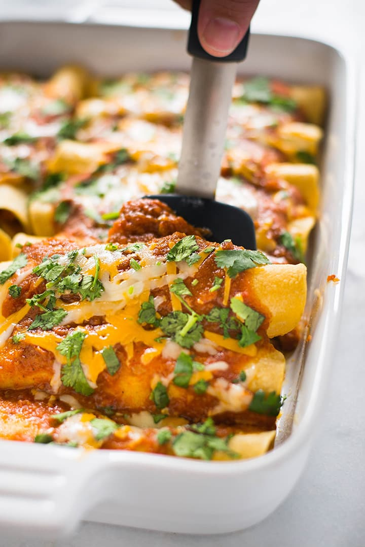 10 Enchilada Recipe With Chicken Easy