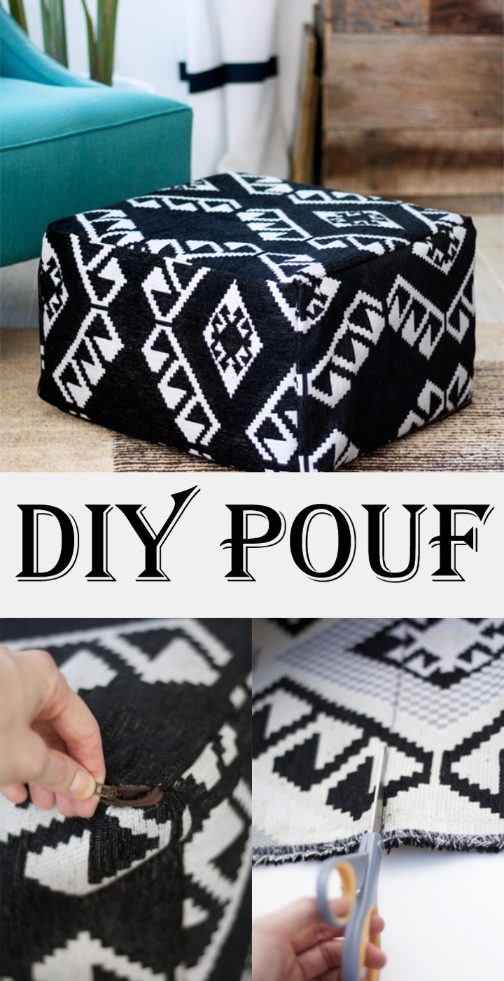 DIY Pouf