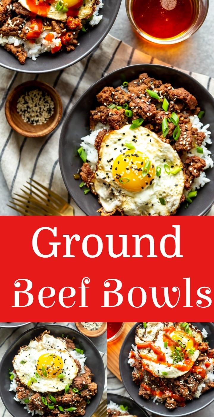 Ground Beef Bowls