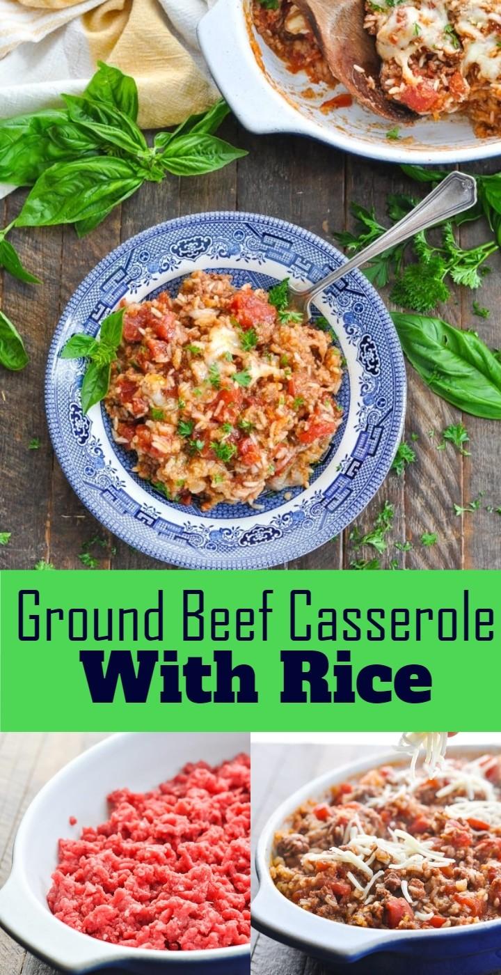 Ground Beef Casserole With Rice