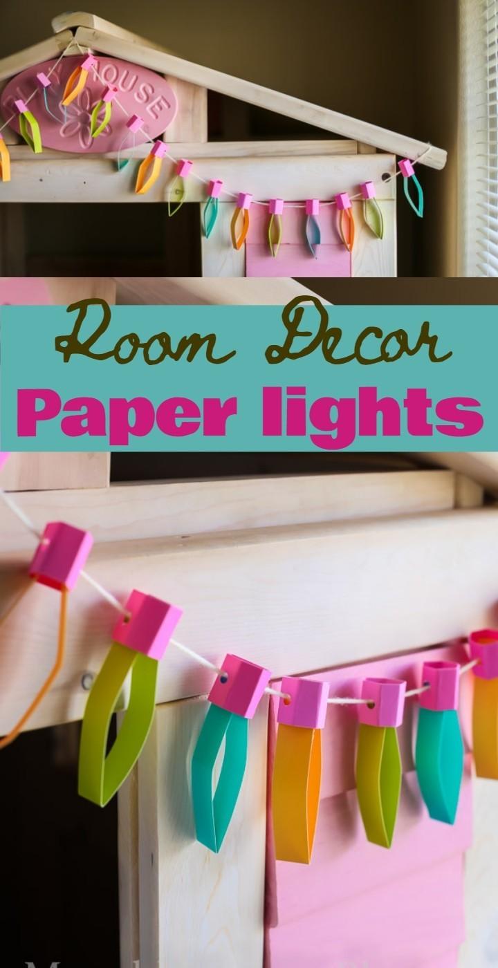 Room Decor Paper lights
