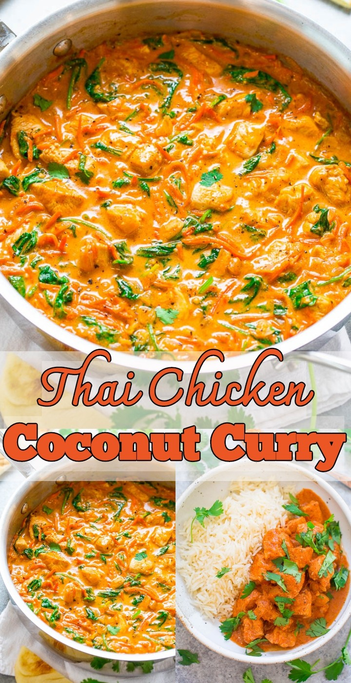 Thai Chicken Coconut Curry