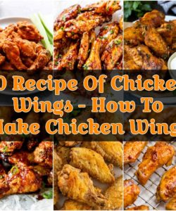 10 Recipe Of Chicken Wings - How To Make Chicken Wings