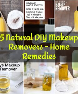 5 Natural DIY Makeup Removers - Home Remedies