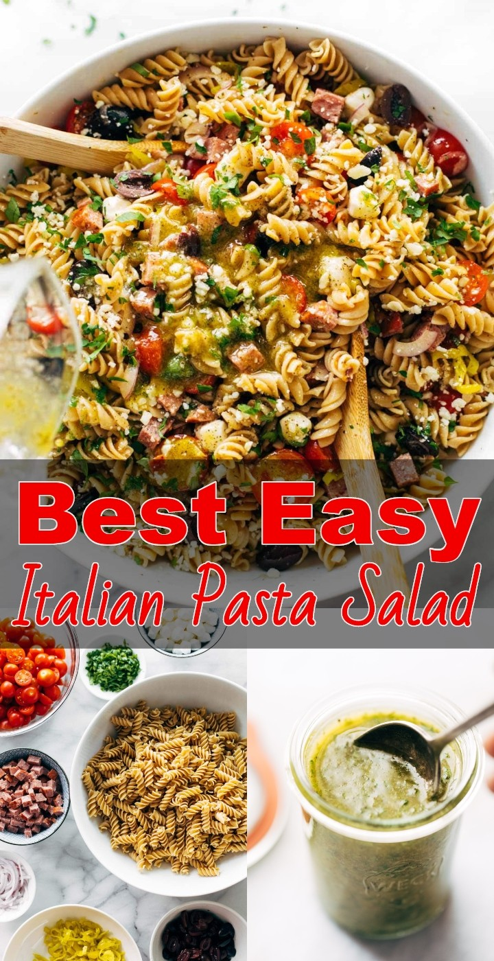 Best Easy Italian Pasta Salad