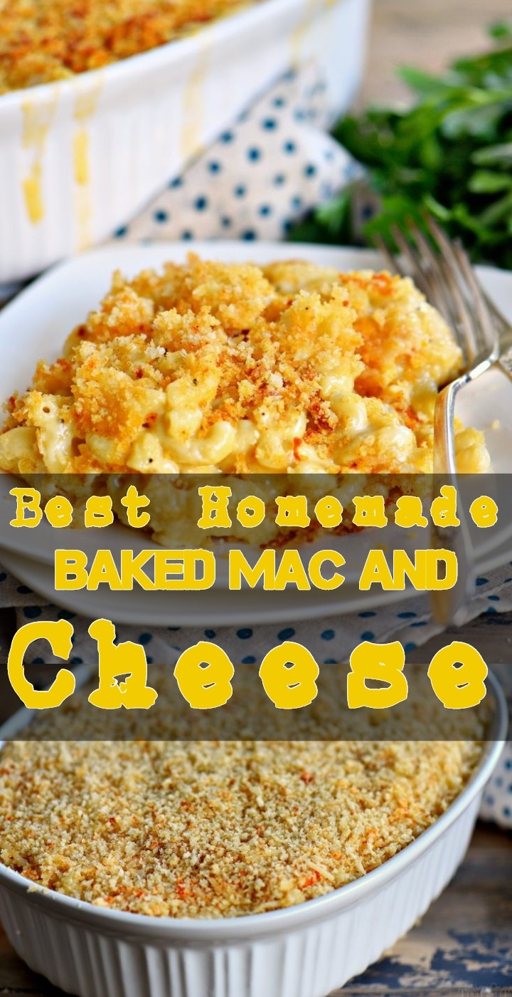 Best Homemade Baked Mac And Cheese