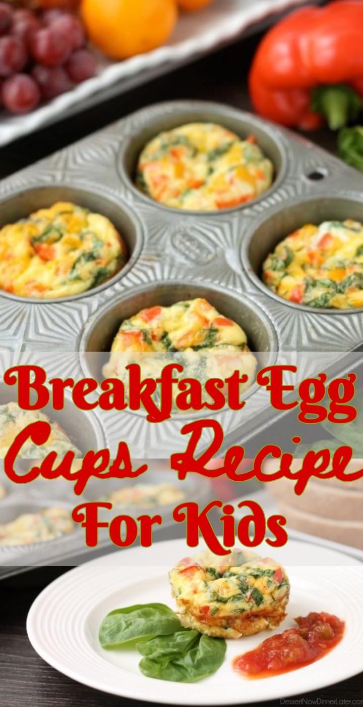 Breakfast Egg Cups Recipe For Kids