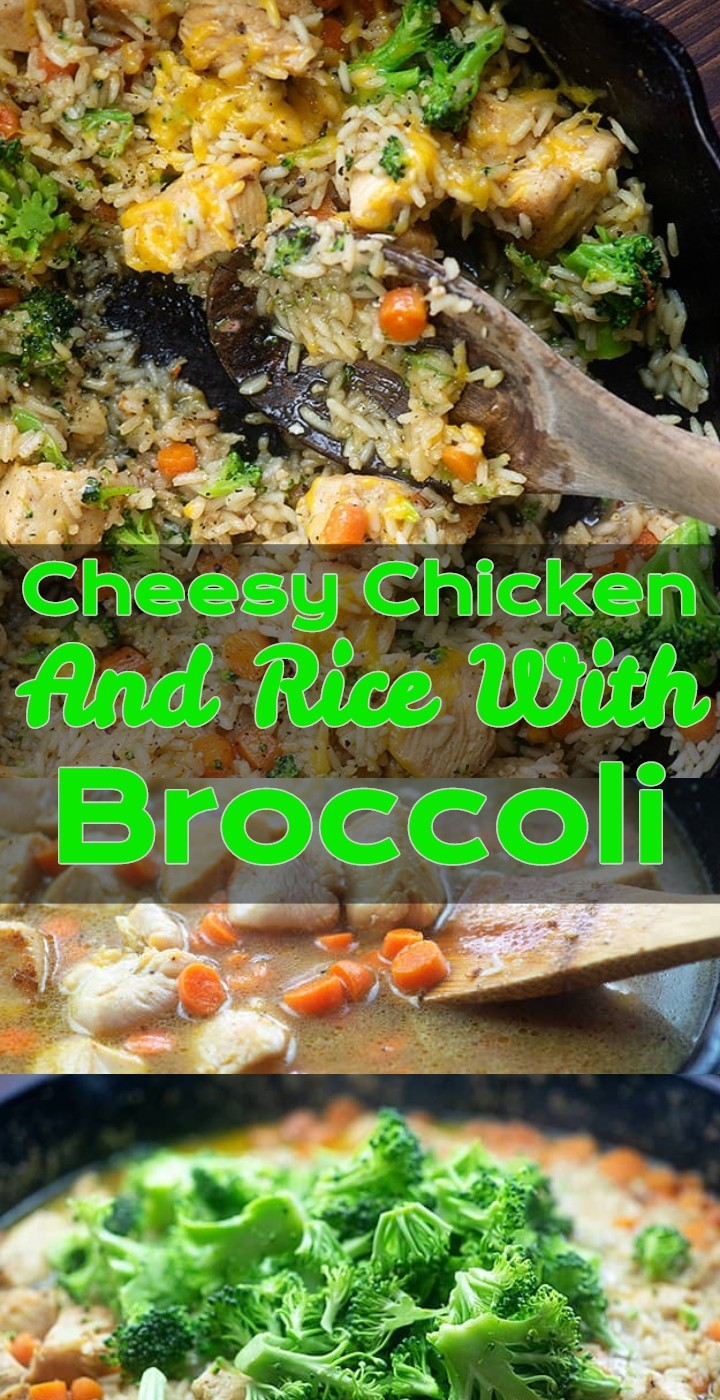 Cheesy Chicken And Rice With Broccoli 1