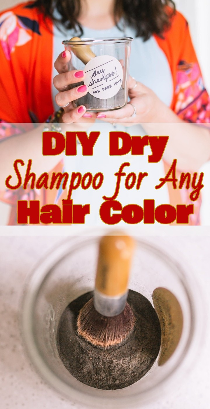 DIY Dry Shampoo for Any Hair Color